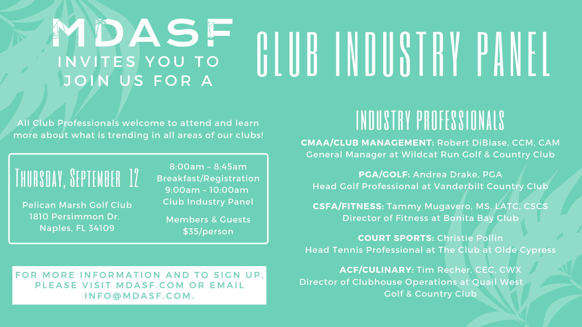 Membership Directors Association of Southwest Florida